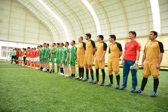 Gənc Alim və Mütəxəssislərin IV Futbol Çempionatının qrup oyunlarına start verilib