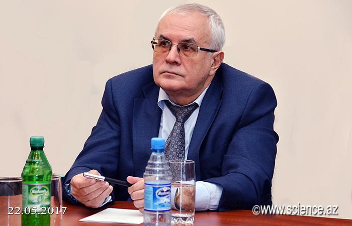 Akademik İbrahim Quliyevin 70 illik yubileyinə həsr olunmuş elmi sessiya keçirilib