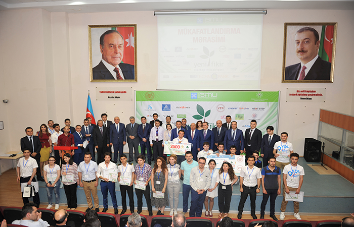 """""""Yeni Fikir - 2017"""" startap müsabiqəsinin qalibləri müəyyən olunub"""