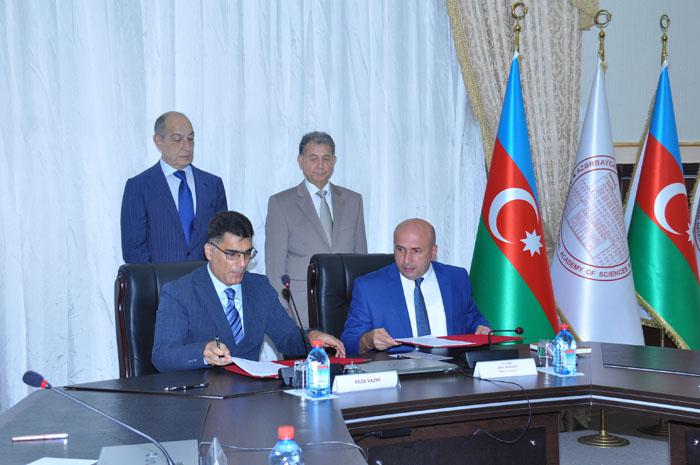 """AMEA Yüksək Texnologiyalar Parkı ilə """"EPC Group"""" MMC arasında əməkdaşlığa dair müqavilə imzalanıb"""