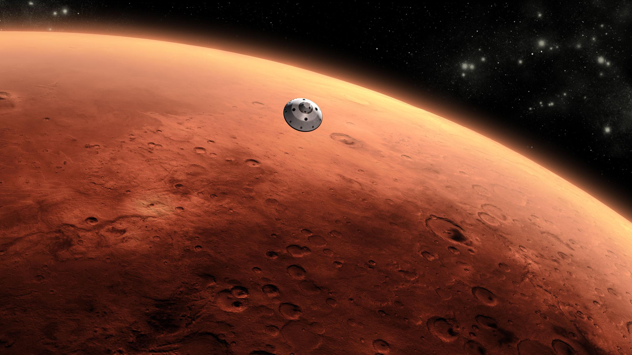 Marsda daha əvvəl həyatın olduğu iddia edilir