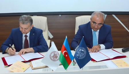 Dövlət İqtisad Universiteti ilə əməkdaşlığa dair memorandum imzalanıb