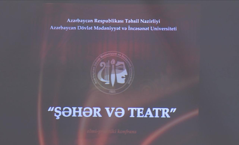 10 Mart Milli Teatr Gününə həsr olunmuş konfrans keçirilib