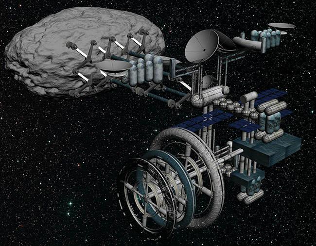 Kosmosda mədənçilik inkişaf etdiriləcək