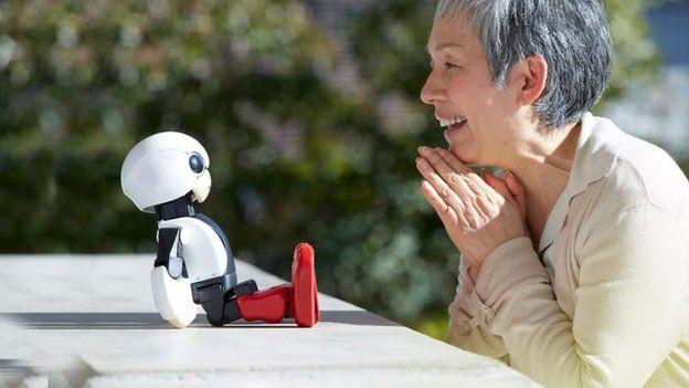Qayğıkeş robotlar insanların ağrısını hiss edəcək