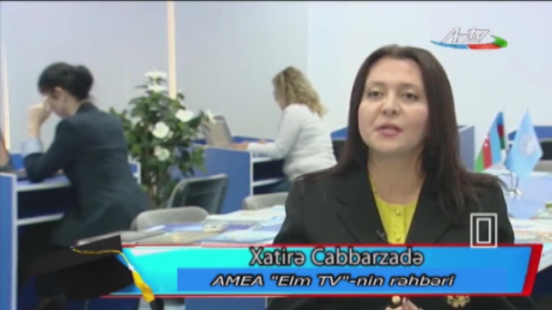 """İnternet və biz AzTV """"Tələbə dünyası"""" verilişi"""